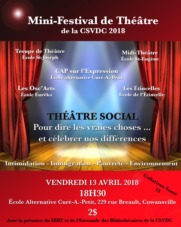 Mini-festival de théâtre